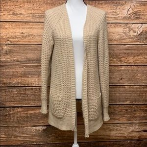 Mossimo Open Front Chunky Cardigan
